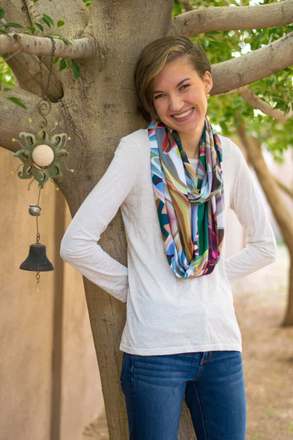 Dyana Hesson Arizona Highways Eternity Scarf